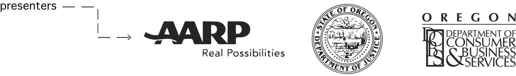 aarp logo white